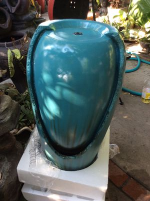 Jar fountain with led light for Sale in Maywood, CA
