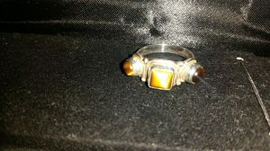 Tiger's eye sterling silver 925 ring new size 6 for Sale in Anaheim, CA