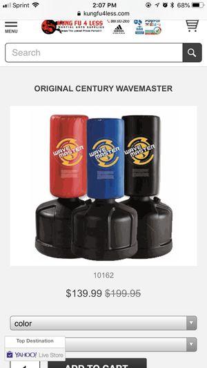 Wave master punching bag for Sale in Manassas, VA