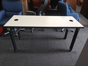 $85 Used commercial office table , computer table for Sale in Houston, TX