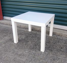 White Ikea End Table for Sale in Durham,  NC