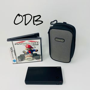 Black DSi System w/ Mario Kart - Nintendo for Sale in Kansas City, MO