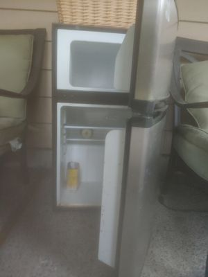 Mini freezer fridge from Costco Barely Used good shape a few flaws exterior 175 new for Sale in Lake Forest Park, WA