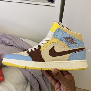 Maison Chateau Rouge Fearless Jordan 1 Mid (STOCKX VERIFIED) for Sale in Buford, GA