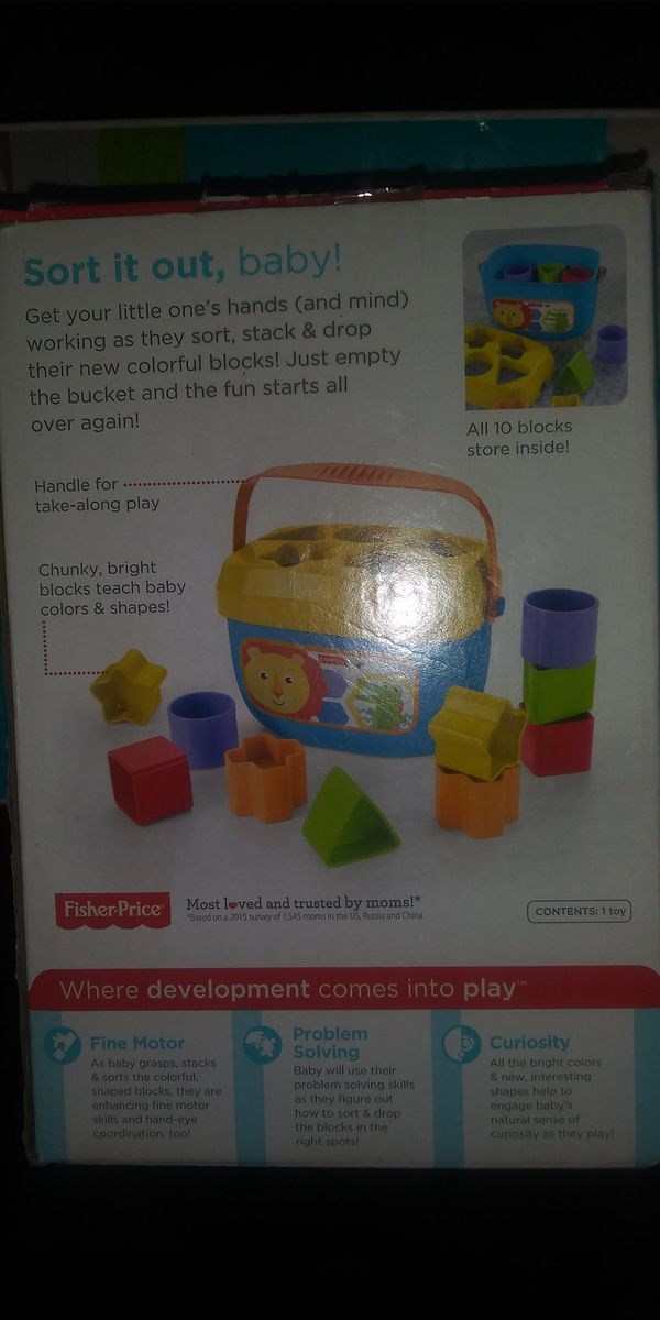 Fisher price shapes