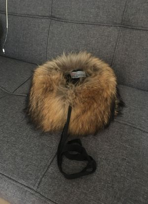 Real fur (raccoon) Red Valentino collar fur for Sale for sale  New York, NY