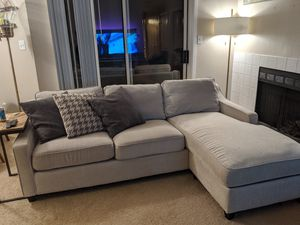Scott Living Sectional Sofa with Reversible Storage Chaise for Sale in Lynnwood, WA
