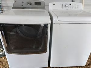 Very nice extra heavy duty washer and dryer for Sale in Tupelo, MS