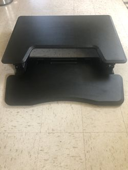 Standing Desk Standing Table Top Add On Keyboard Room for Sale in Philadelphia,  PA