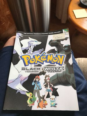 Strategy guide for Pokémon black and white for Sale in Murfreesboro, TN