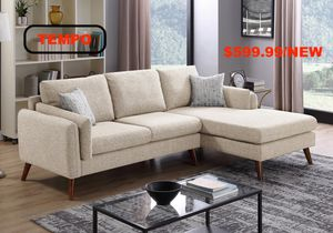 2 PC Beige Sectional Sofa for Sale in Santa Ana, CA