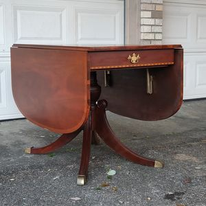 Antique Duncan Phyfe style dropleaf table for Sale in Houston, TX