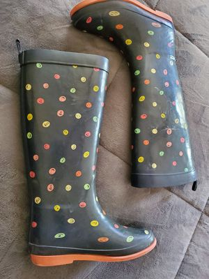 Girls rain boots size 1 for Sale in Perris, CA