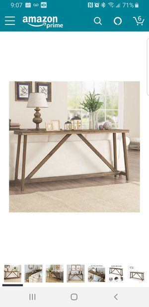 Rustic Wood Console Table for Sale in Seattle, WA