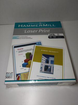 "Laser Print Printer Paper 8""1/2 x 11"" 500 Sheets for Sale in Cicero, IL"