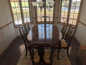 Beautiful solid cherry dining room set for Sale in Winona Lake, IN