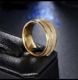 Unisex 18K Gold plated Engagement Ring - RZ for Sale in Dallas, TX
