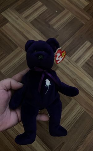 Princess of Wales princess Diana beanie baby 1997 first edition for Sale in Roseville, MI
