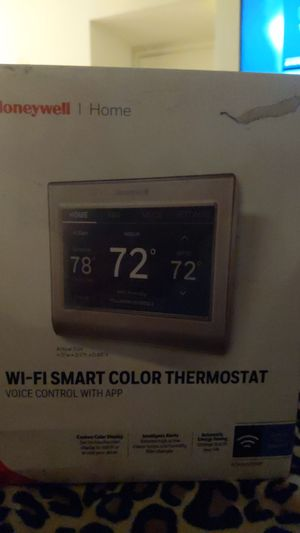 Honeywell Wi-Fi Smart Color Thermostat RTH9585WF for Sale in Norwalk, CA