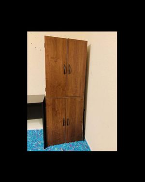 storage cupboard , Bookcase   Shelf Bookshelving unit , Wooden, Big moving sale Pick up Only for Sale in Port St. Lucie, FL