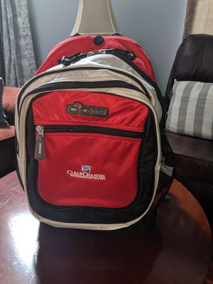 Ogio Carbon Backpack travel bag laptop backpack red for Sale in Montgomery, IL