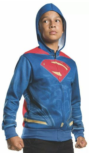 Rubie's Costume Batman v Superman: Dawn of Justice Superman Child Hoodie, Medium. for Sale in Newark, NJ