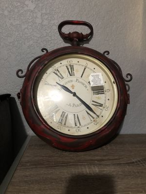 Vintage , double sided clock for Sale in Graham, WA