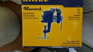 Echo 3 inch Bench Vise for Sale in Placentia, CA