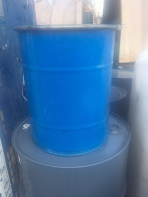 25 Gallon Metal Can with locking lids for Sale in Detroit, MI