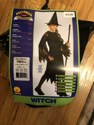 Witch Halloween Costume Brand New (NEGOTIABLE) for Sale in Shelby charter Township, MI