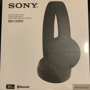 Sony WH-CH510 Wireless Headphones for Sale in Los Angeles, CA