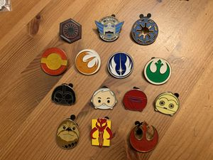 Disney Trading Pins- Star Wars Lot for Sale in Brea, CA