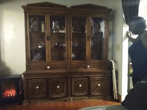 Antique /picture cabinet for living room for Sale in Everett, MA
