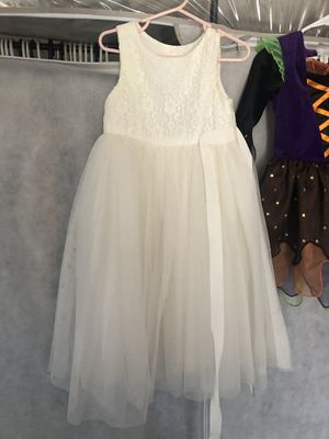 Flower girl dress 4T for Sale in Ontario, CA