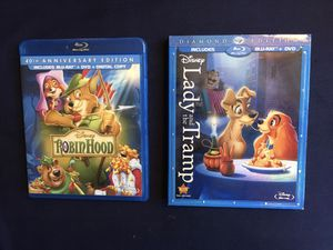 Lady and the Tramp/Robin Hood for Sale in Glendale, CA