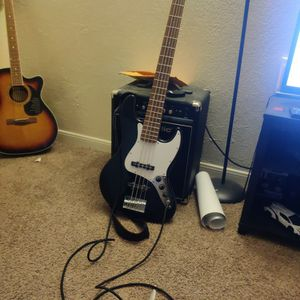 Squier J Bass for Sale in Houston, TX