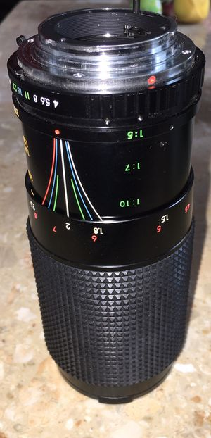 FOCAL ZOOM LENS 80-200MM # NO. 8256768 1:4.5 for Sale in Sycamore, IL