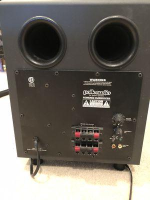 Polk Audio Powered Subwoofer LR 106476 for Sale in Laurel, MD