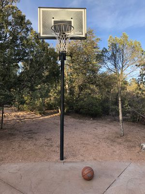 Basketball hoop and basketball for Sale in Payson, AZ