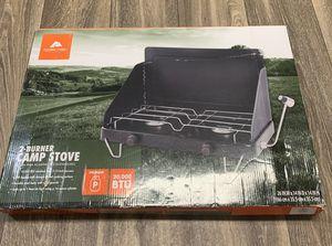 Brand new ozark trail 2 burner camp stove for Sale in Tampa, FL