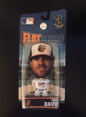 "Chris Davis Baltimore Orioles MLB Baseball Flathletes 5"" Action Figure Toy Forever Collectibles - BRAND NEW! for Sale in Citrus Heights, CA"