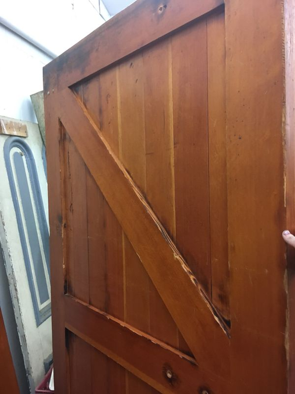 Brand new barn doors