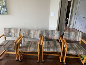 4 vintage chairs for Sale in Arlington, VA
