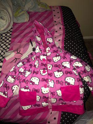 Hello Kitty Rain Jacket Size 5 for Sale in Reynoldsburg, OH