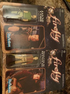 Firefly figures (collection) for Sale in Hawthorne, CA