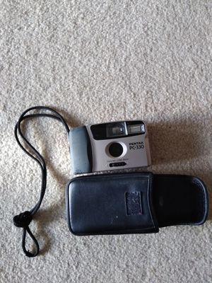 Pentax PC 330 camera(with leather case and unused film roll) for Sale in Aspen Hill, MD
