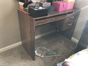 Wooden desk for Sale in Valley Center, KS