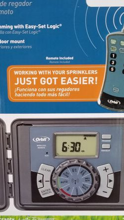 Sprinkler Timer W/ Remote for Sale in Boynton Beach,  FL