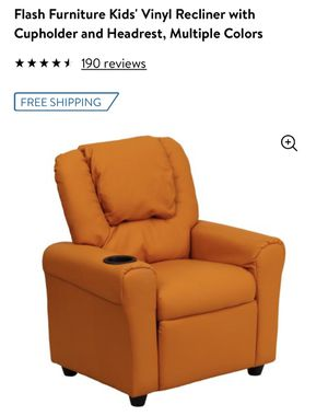 Toddler kid recliner chair with cup holder retail $140 for Sale in Arlington, TX