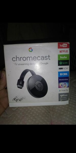 T.V Streaming ChromeCast Device for Sale in San Antonio, TX